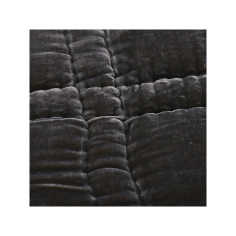 couvre lit velours gris boutis couvre lit velours gris couvre lit velours gris