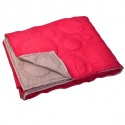 Quilt Diamond Red Grey