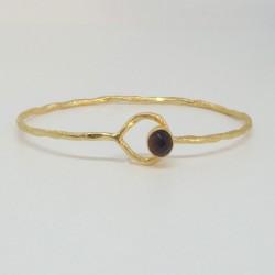 Bracelet doré Améthyste