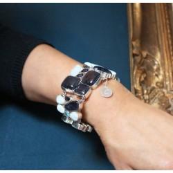 Bracelet argent larimar Monica