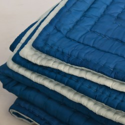 Quilt diamond blue