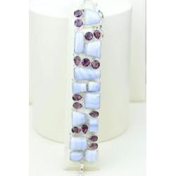 Larimar silver bracelet Angelina